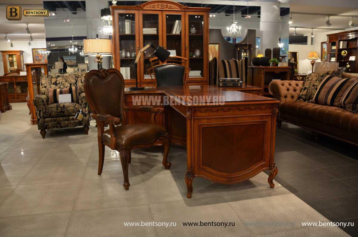 Письменный стол Флетчер А (Классика, массив дерева) купить в СПб