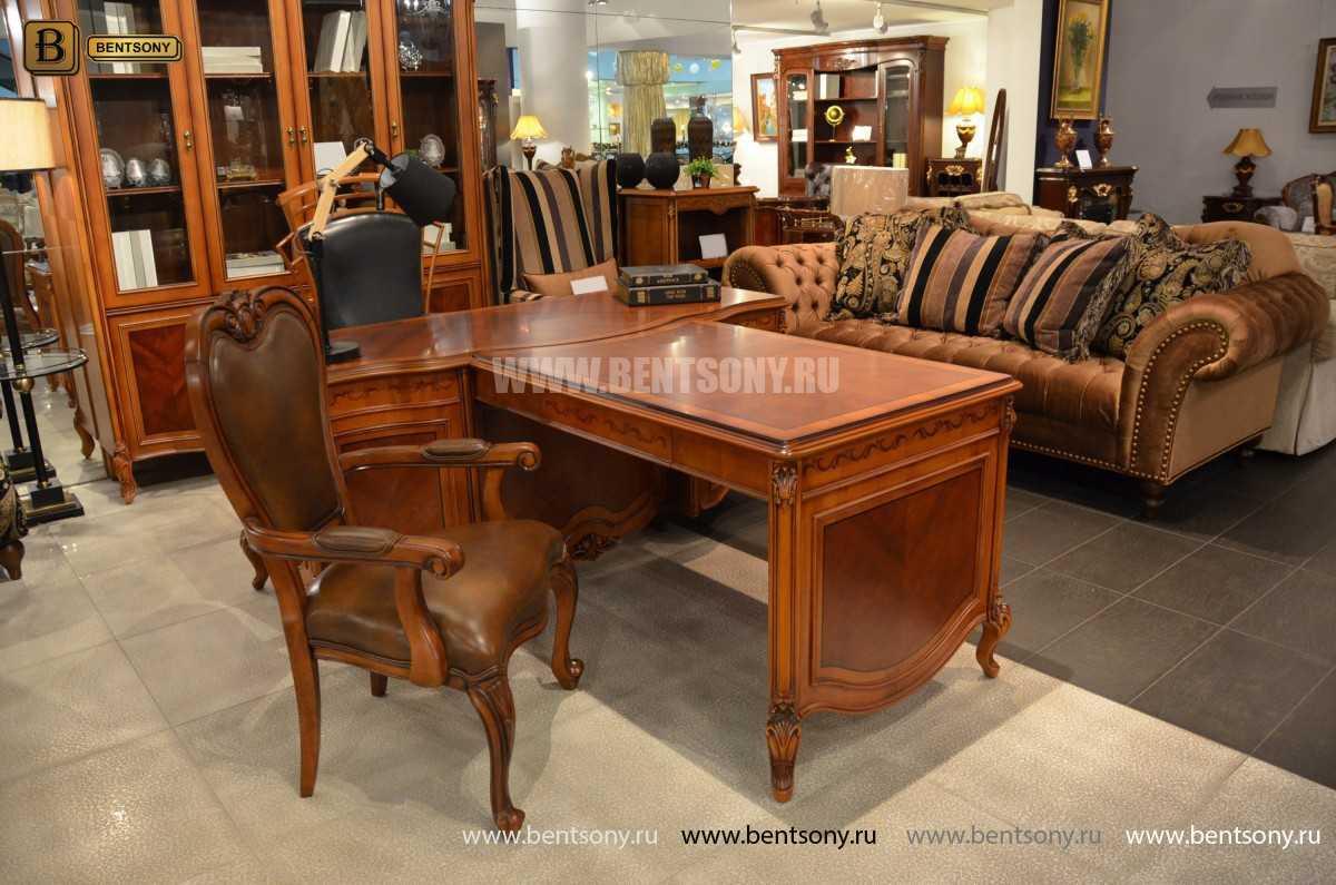 Письменный стол Флетчер А (Классика, массив дерева) каталог с ценами