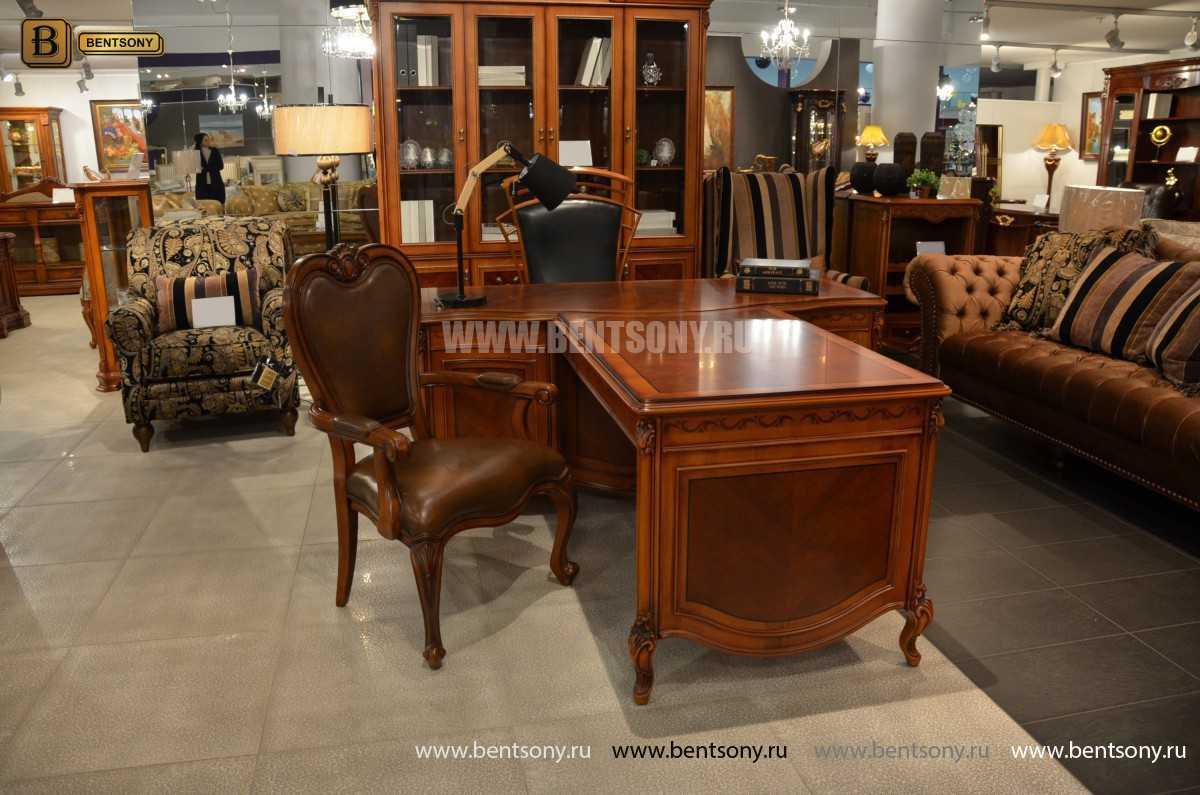 Письменный стол Флетчер А (Классика, массив дерева) каталог мебели