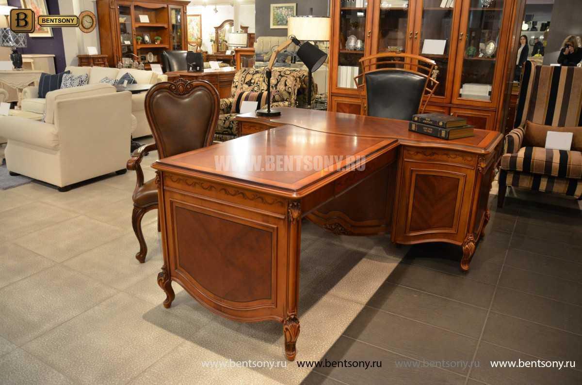 Письменный стол Флетчер А (Классика, массив дерева) каталог