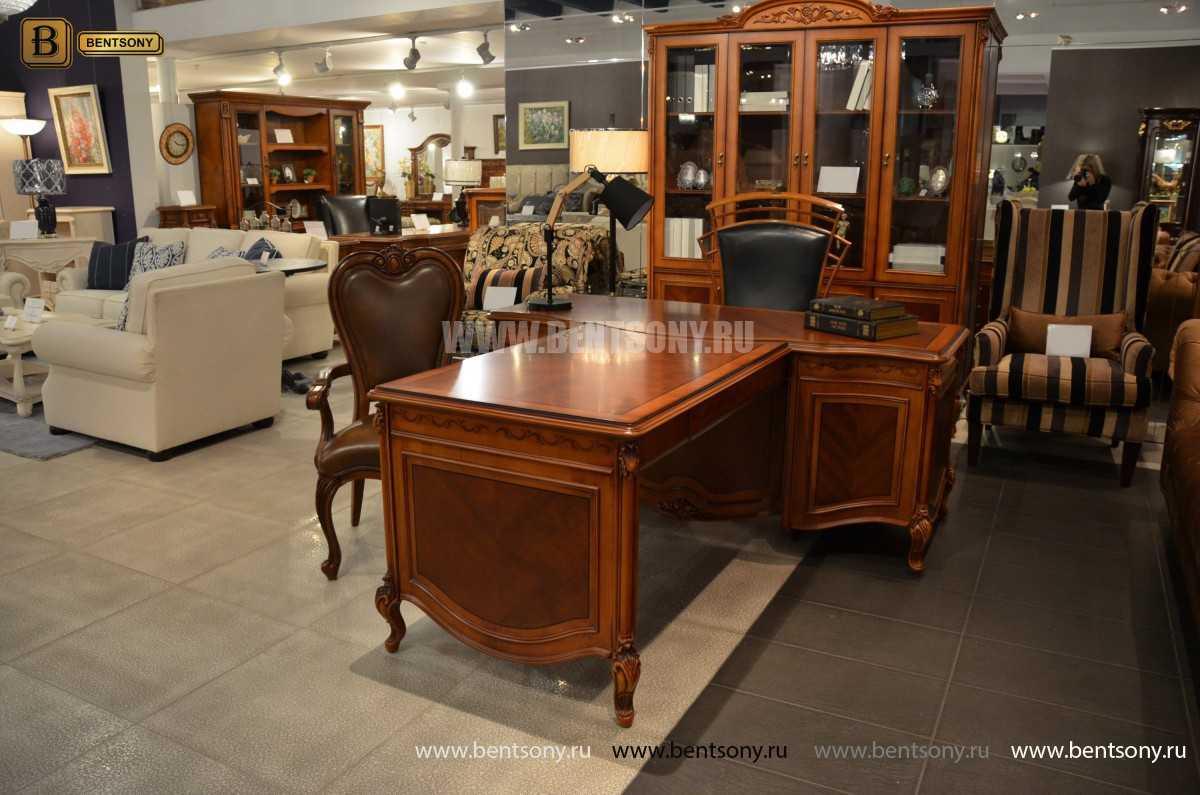 Письменный стол Флетчер А (Классика, массив дерева) купить в Москве