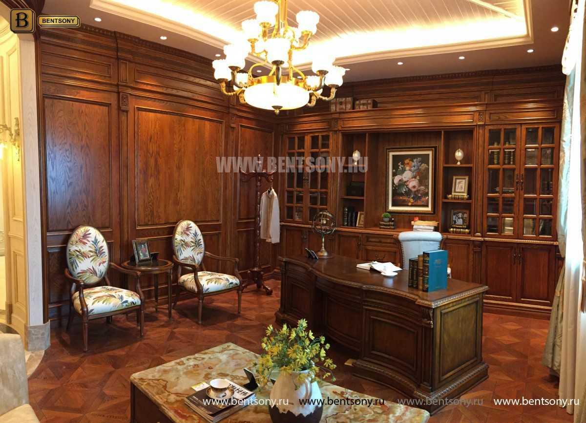 Письменный стол Монтана большой (классика, массив дерева) цена