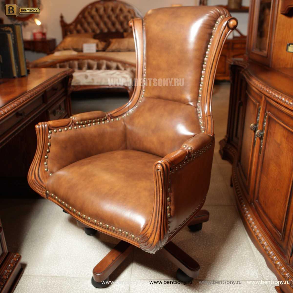 Кресло Кабинетное Монтана (Натуральная кожа)  интернет магазин