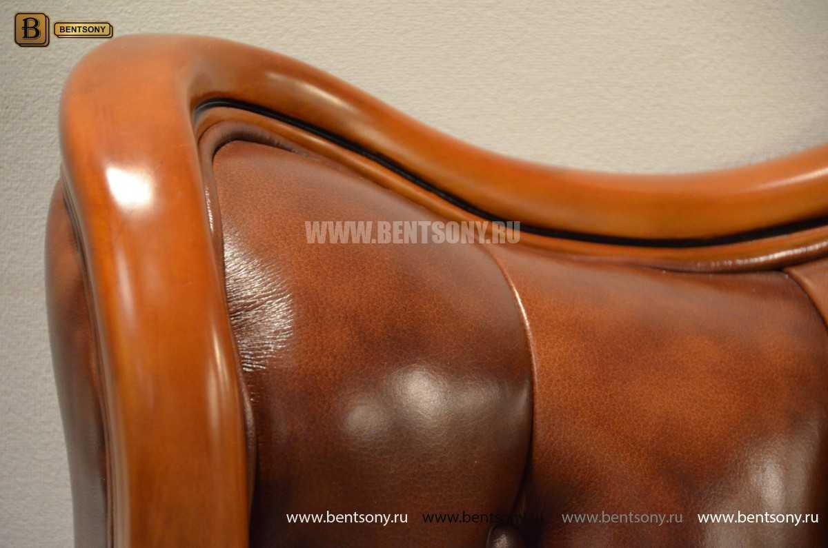 Кровать Флетчер А (Классика, Натуральная кожа) для дома