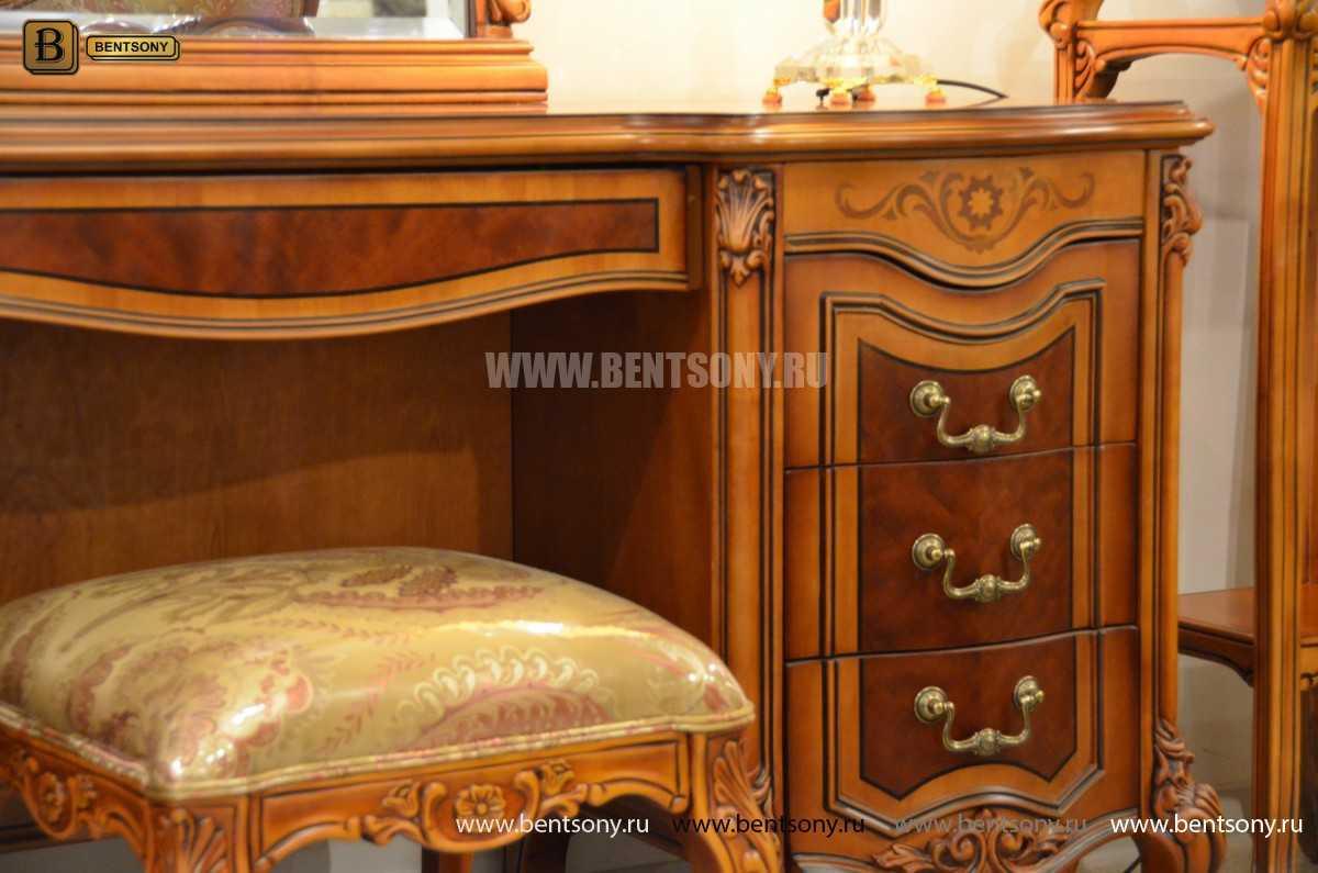 Стол туалетный Флетчер А с зеркалом (Классика, массив дерева) сайт цены