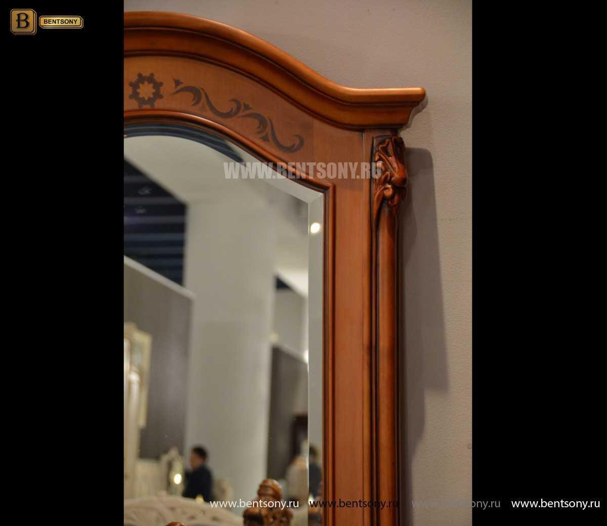 Зеркало в полный рост Флетчер (массив дерева) в интерьере