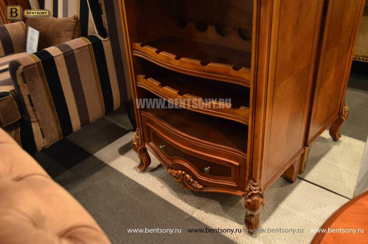 Тумба для хранения вина Флетчер (Массив дерева) каталог мебели