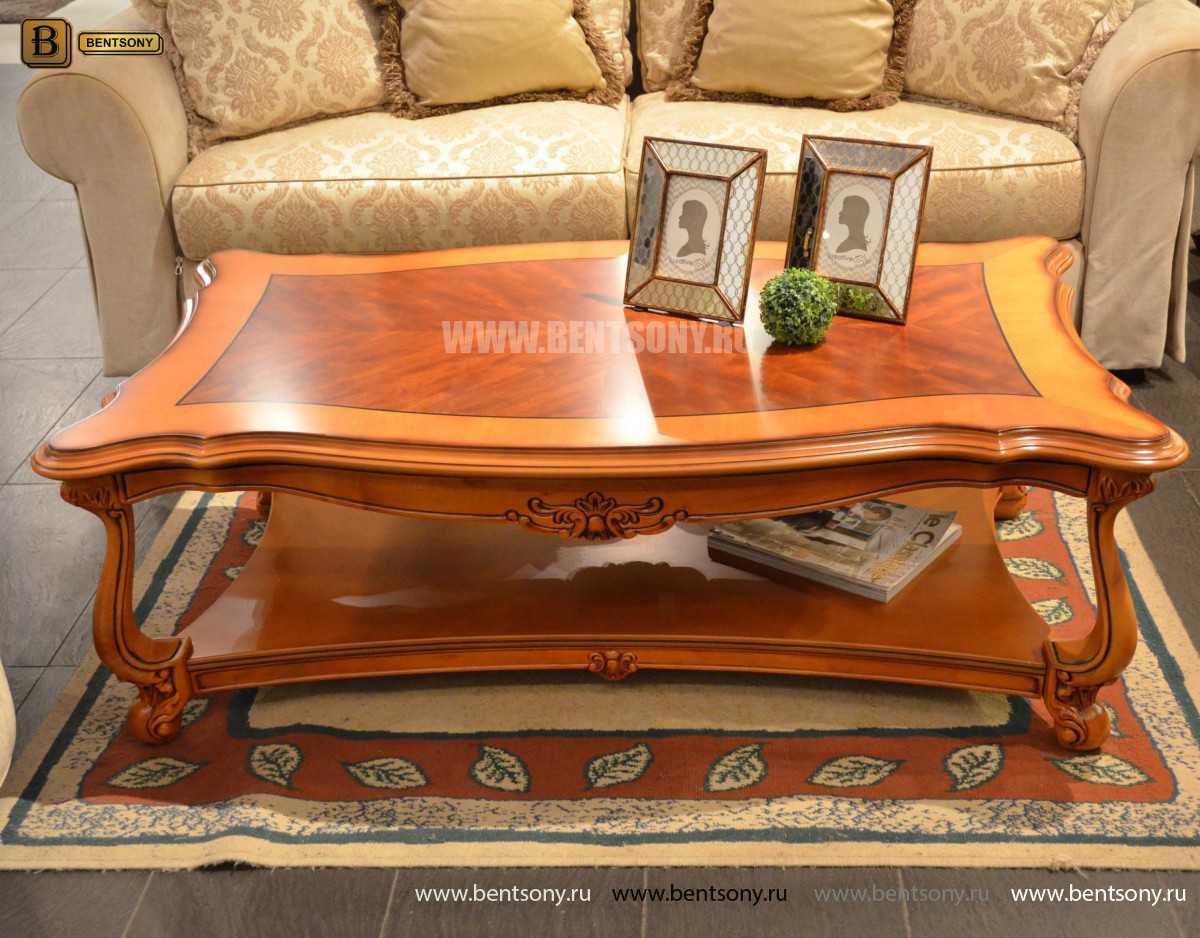 Стол Журнальный Прямоугольный  Флетчер В (Массив дерева) купить в Москве