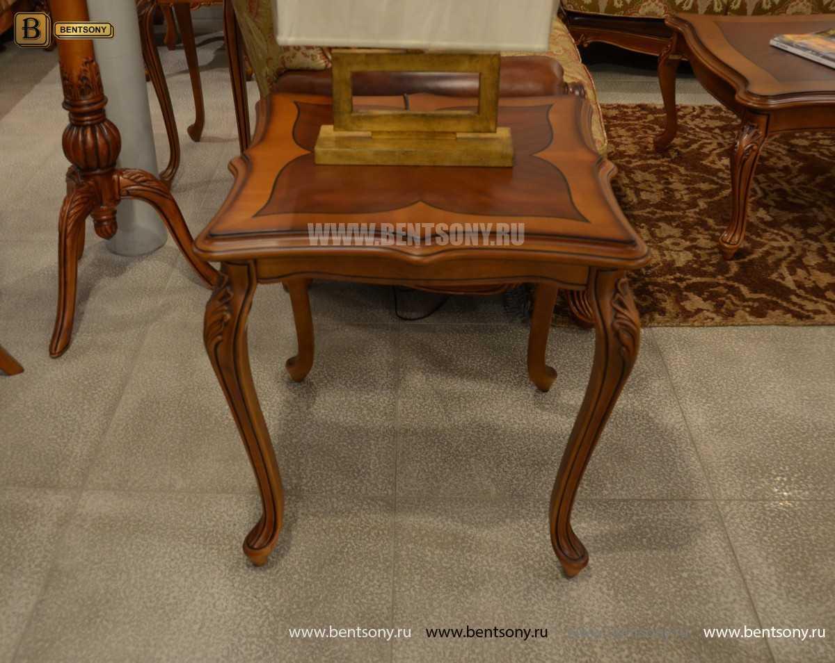 Стол чайный квадратный Флетчер (Массив дерева) распродажа