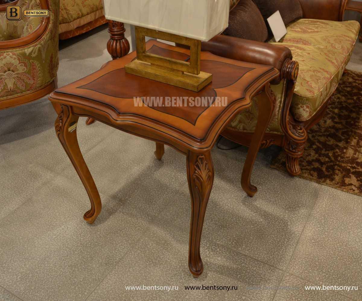 Стол чайный квадратный Флетчер (Массив дерева) официальный сайт цены