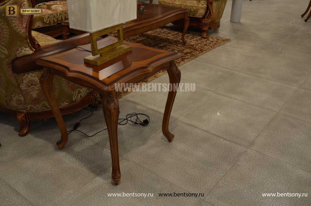 Стол чайный квадратный Флетчер (Массив дерева) для дома