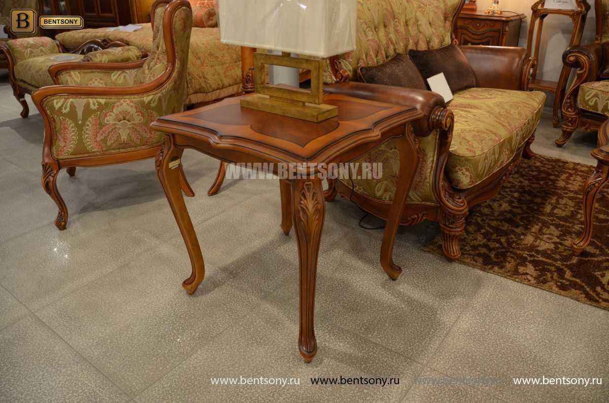 Стол чайный квадратный Флетчер (Массив дерева) купить