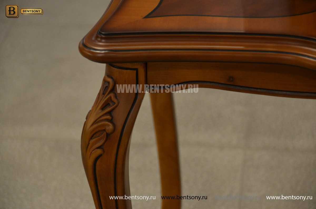 Стол чайный квадратный Флетчер (Массив дерева) каталог мебели с ценами