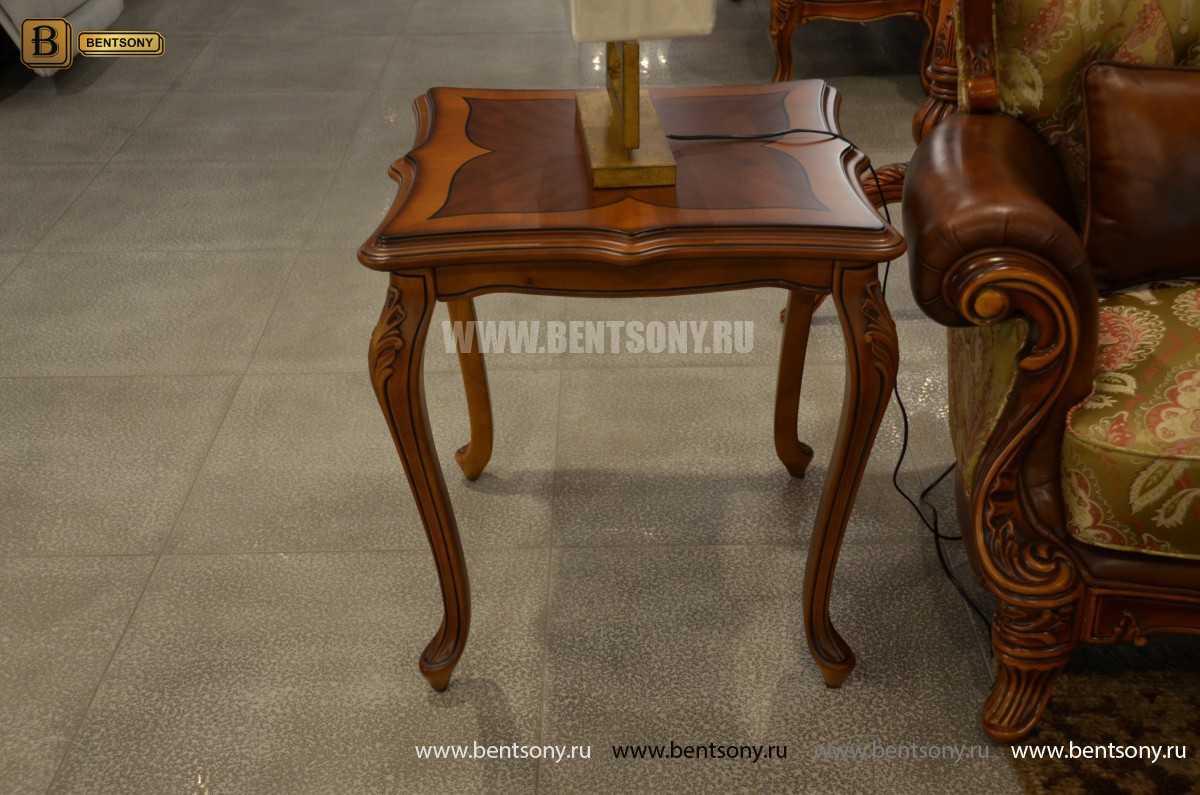 Стол чайный квадратный Флетчер (Массив дерева) цена