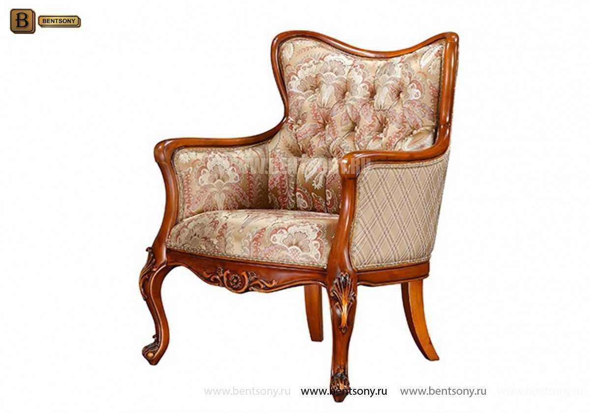 Кресло Флетчер (Классика, ткань) фото