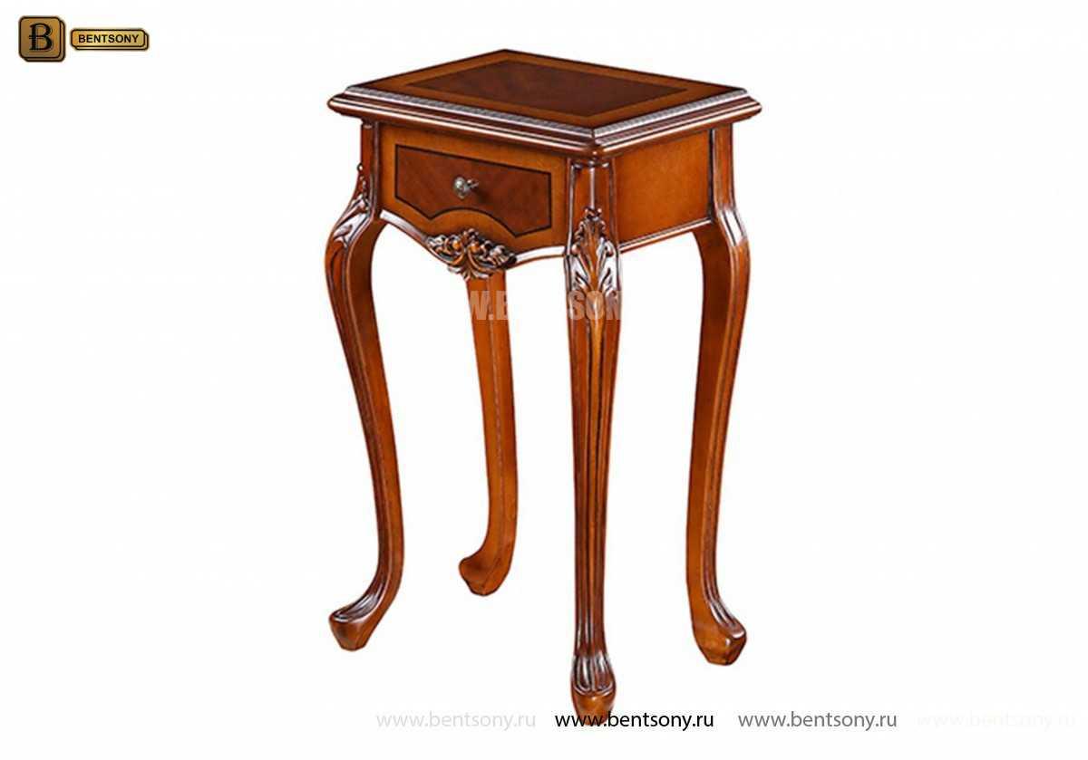 Стол под телефон Флетчер (Массив дерева, класика) каталог мебели с ценами