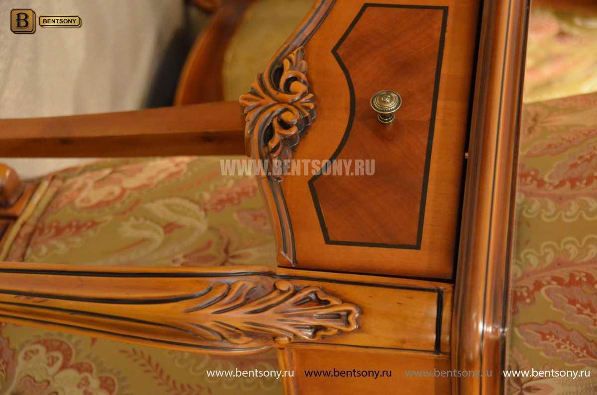 Стол под телефон Флетчер (Массив дерева, класика) для дома