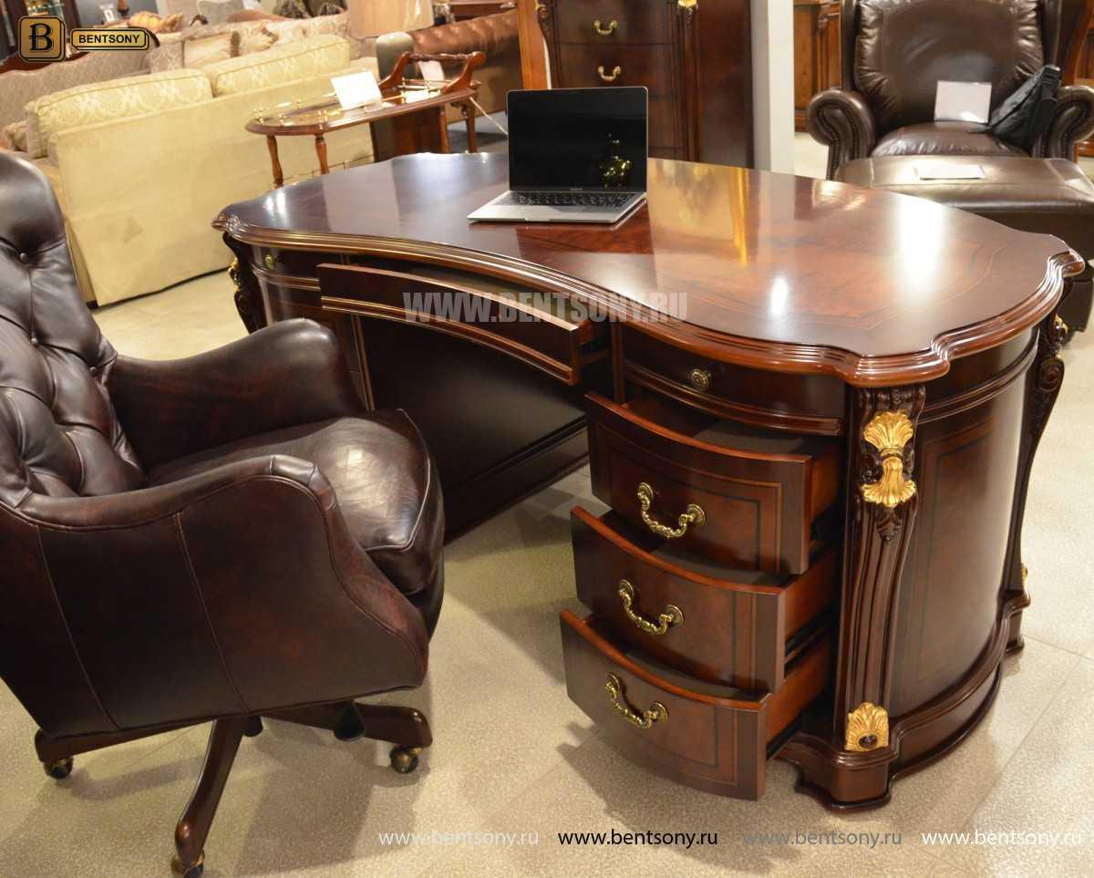 Письменный стол Вагнер А (Массив дерева, Классика) купить в Москве