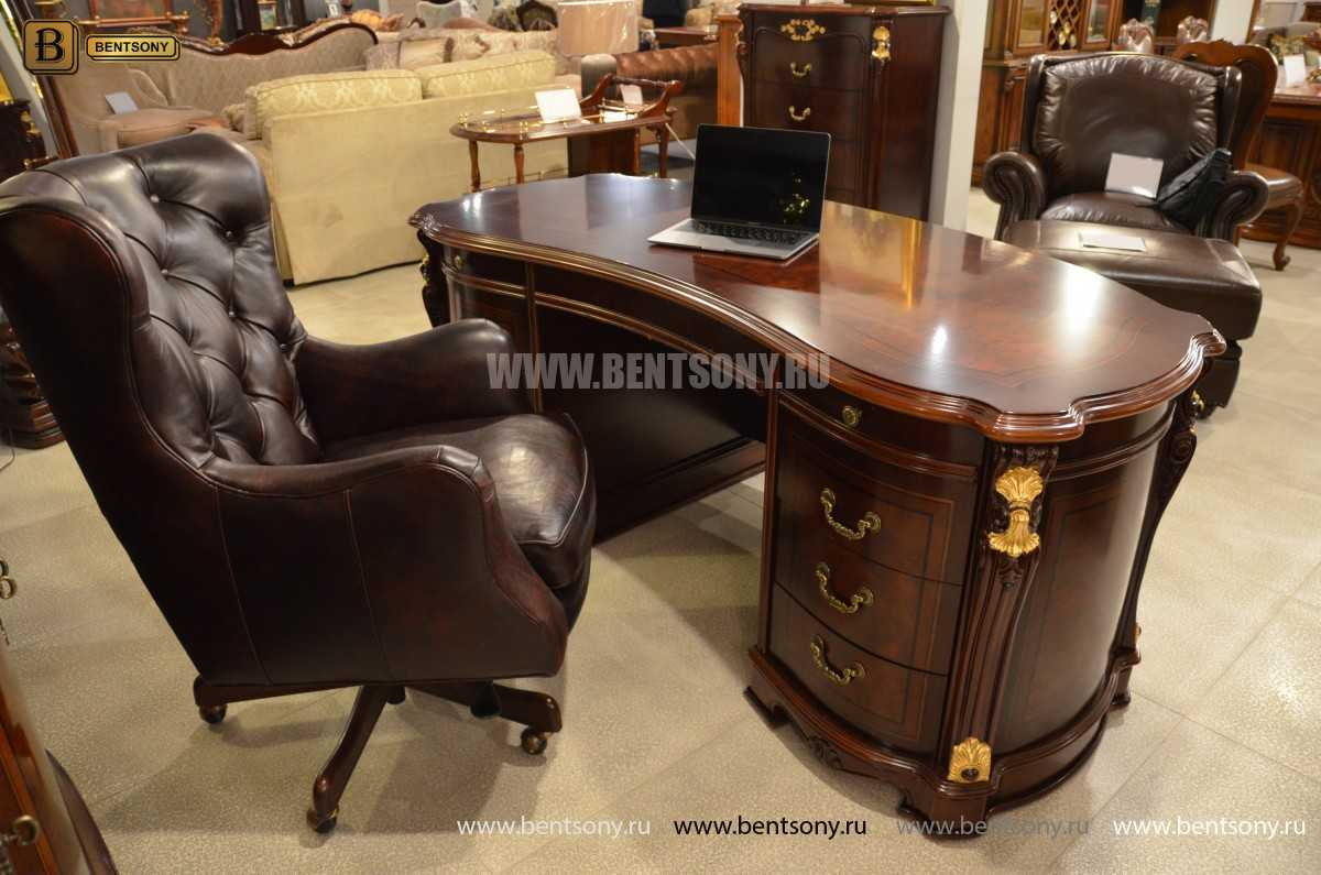 Письменный стол Вагнер А (Массив дерева, Классика) каталог мебели