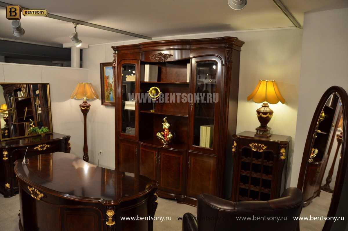Шкаф Книжный Вагнер (Классика, массив дерева) фото