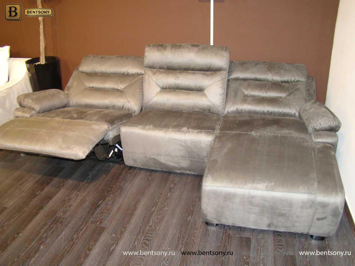 купить тканевый угловой диван Амелия