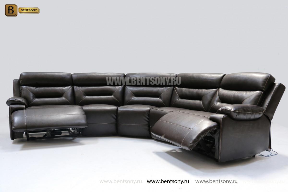 купить угловой диван кожа спб Амелия