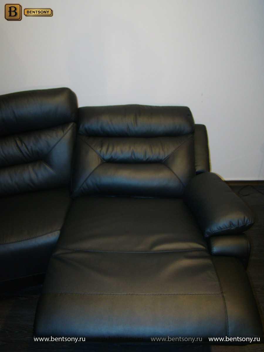 Диван для домашних кинотеатров черный