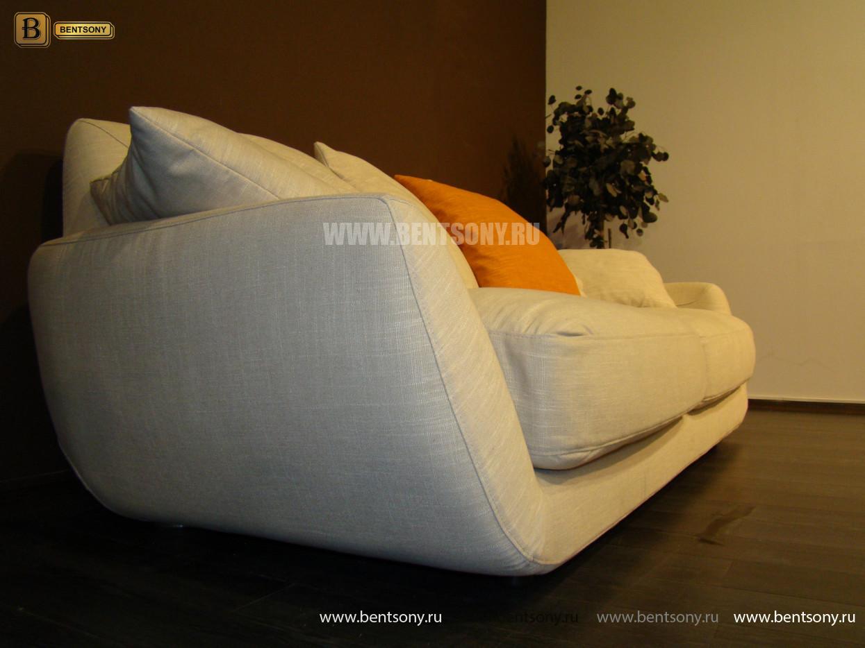 стильный прямой диван Бласко