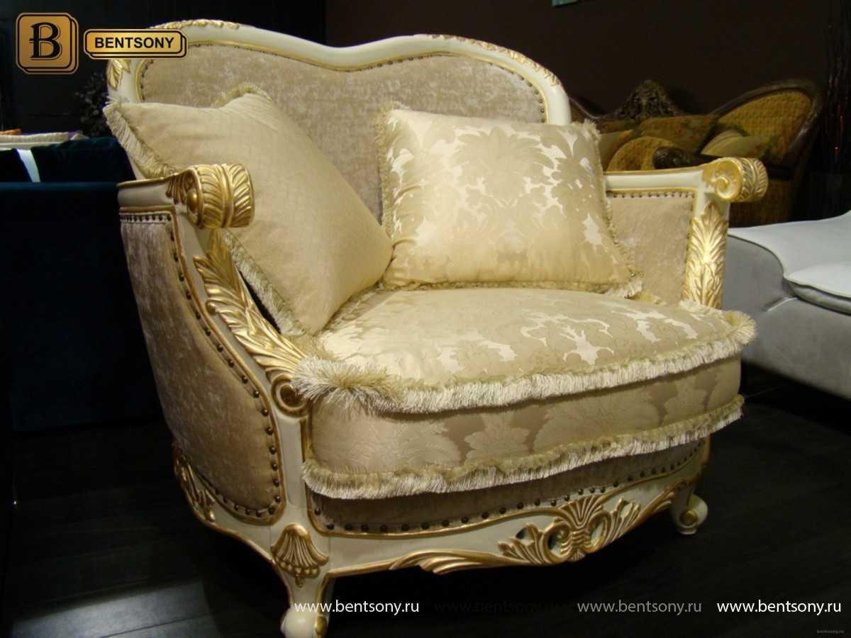 Фото Тканевое классическое кресло