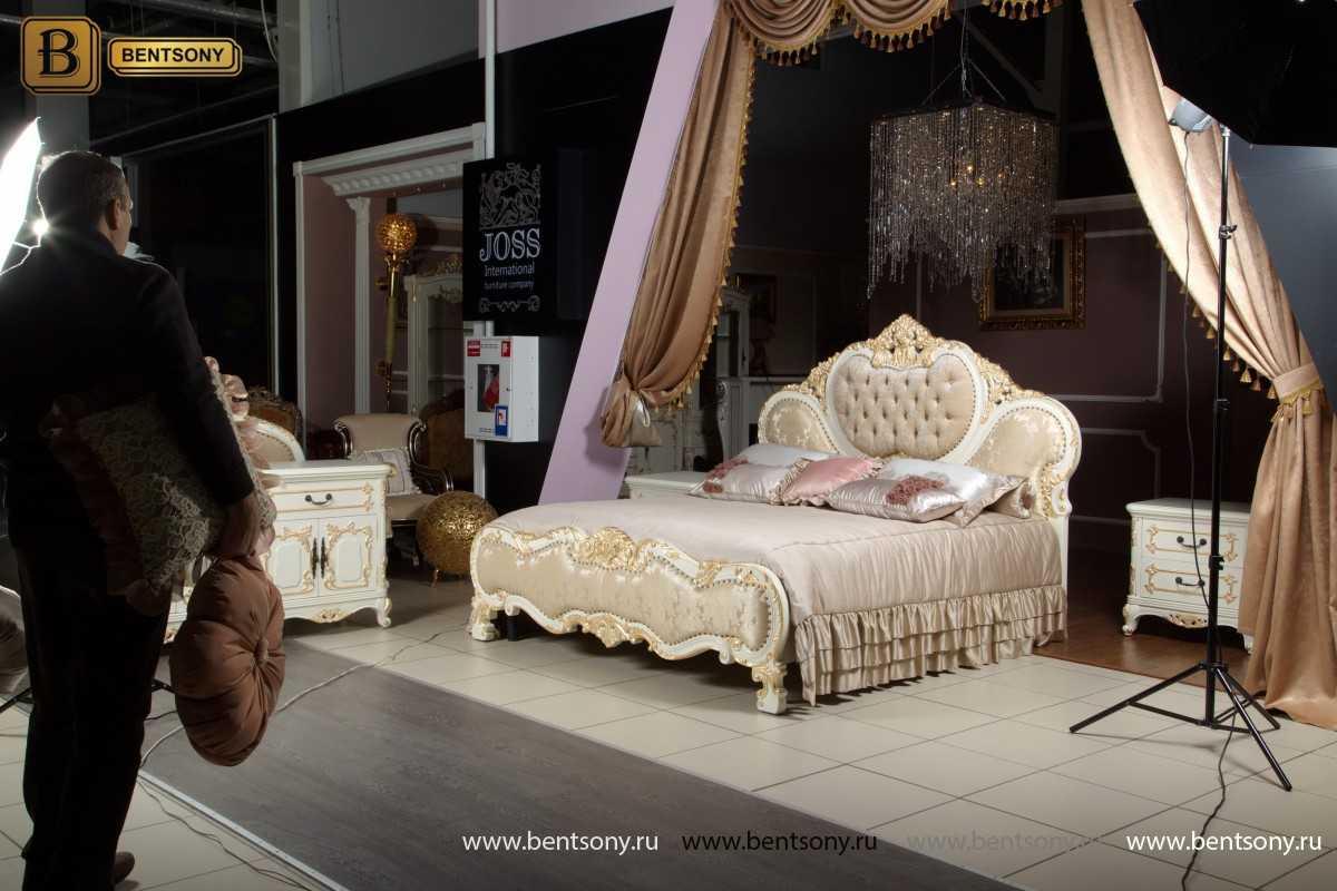 Кровать Амадео мягкое изголовье