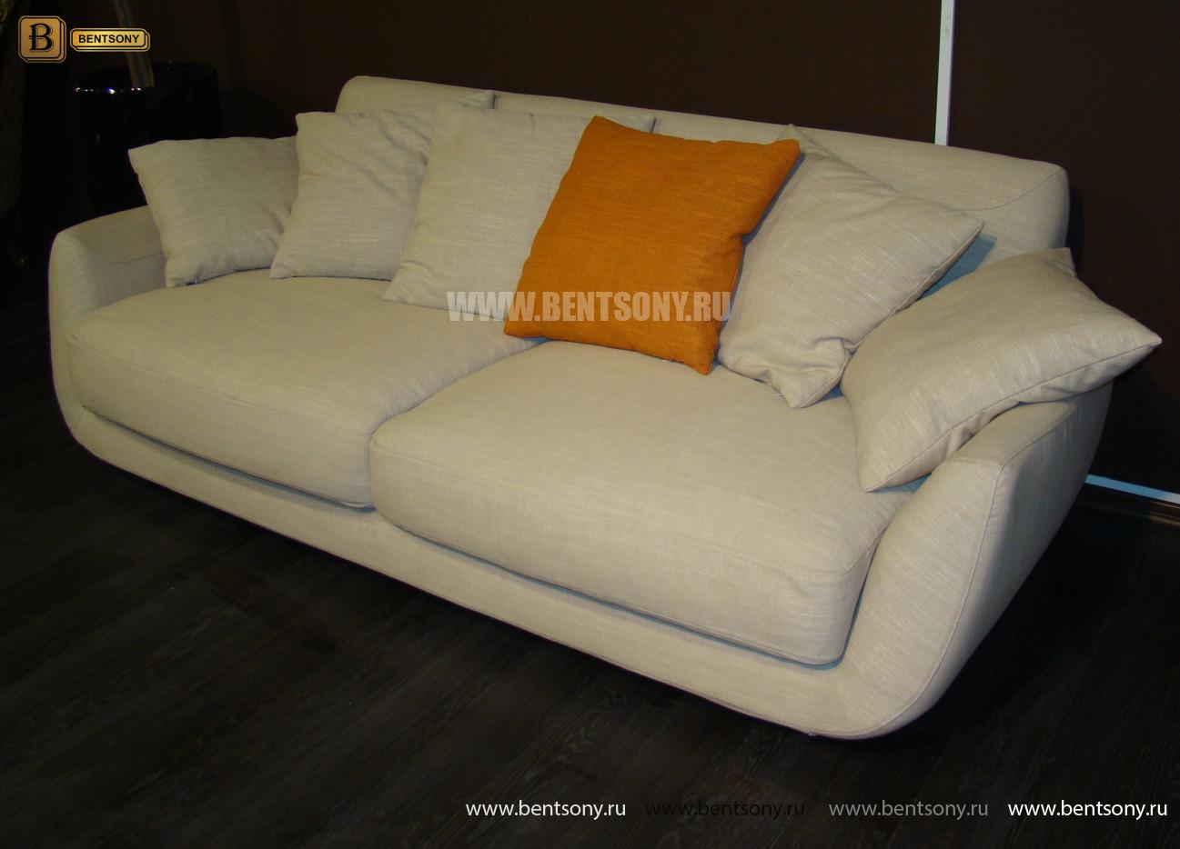 купить светлый прямой диван Бласко