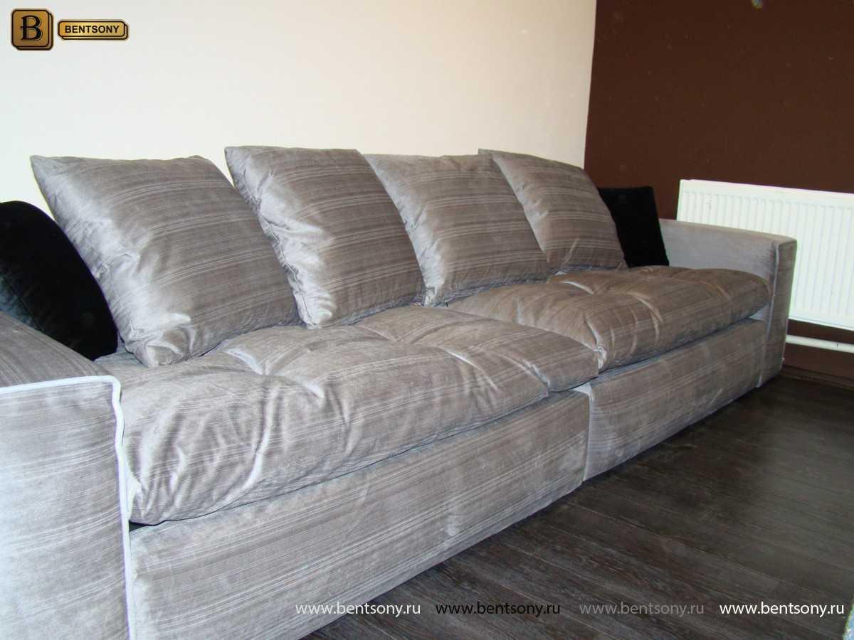 Мягкий элитный диван Бениамино