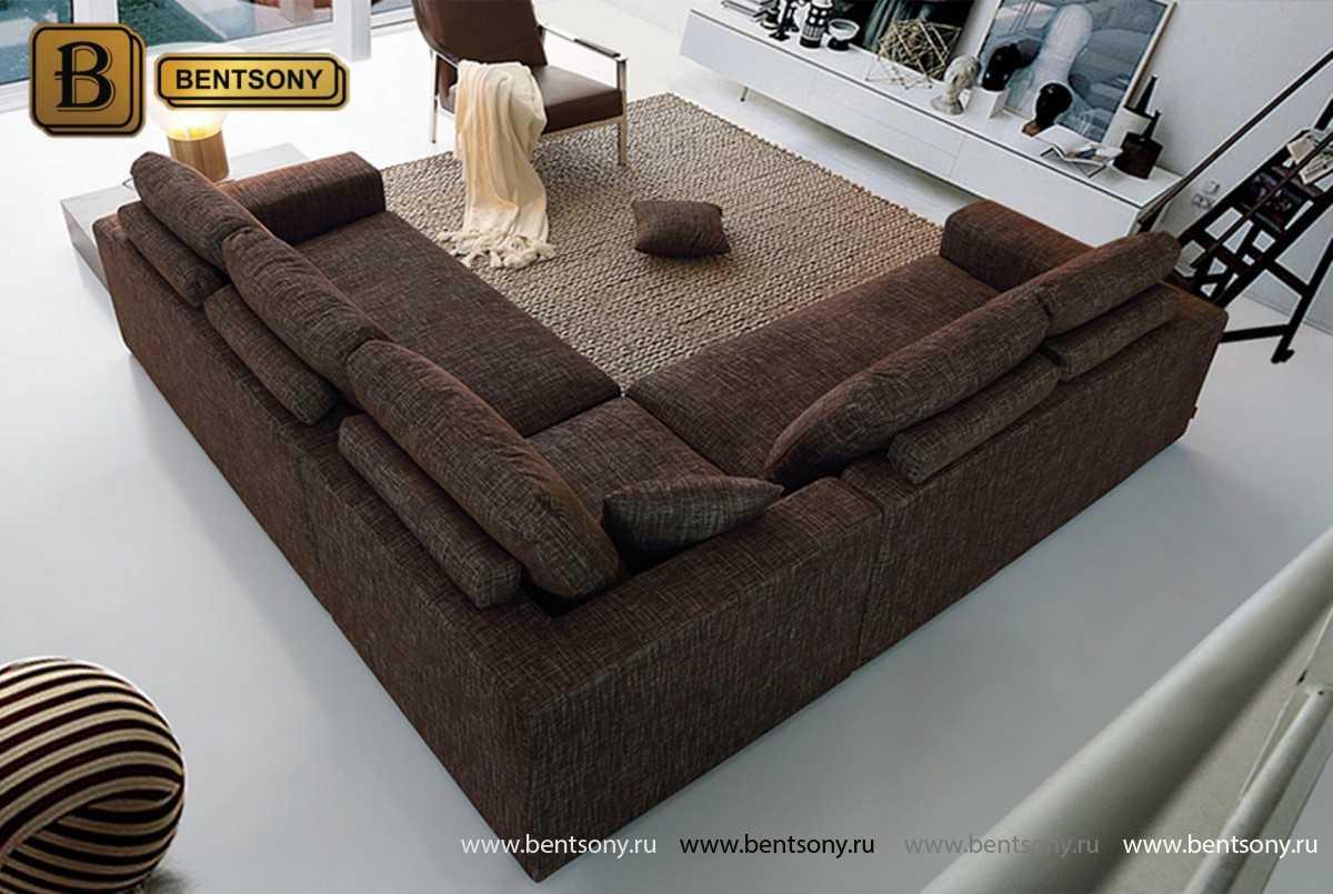 Диван Сапорити (Угловой, Тканевый) каталог мебели с ценами