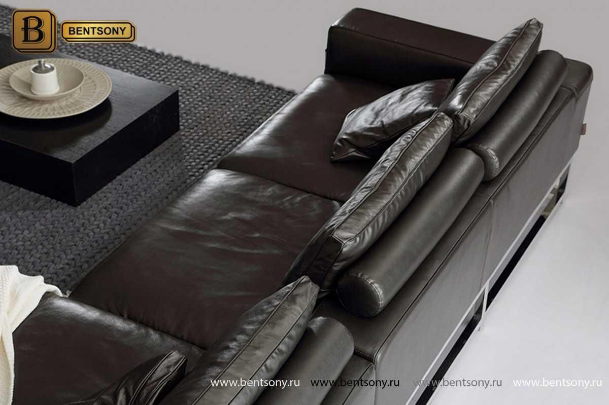 Диван Ди Донато (С шезлонгом, Натуральная кожа) официальный сайт цены