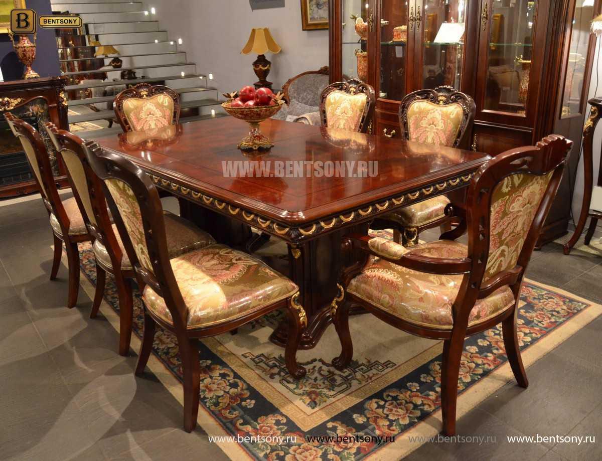 Стол обеденный Вагнер раздвижной (массив дерева) в интерьере