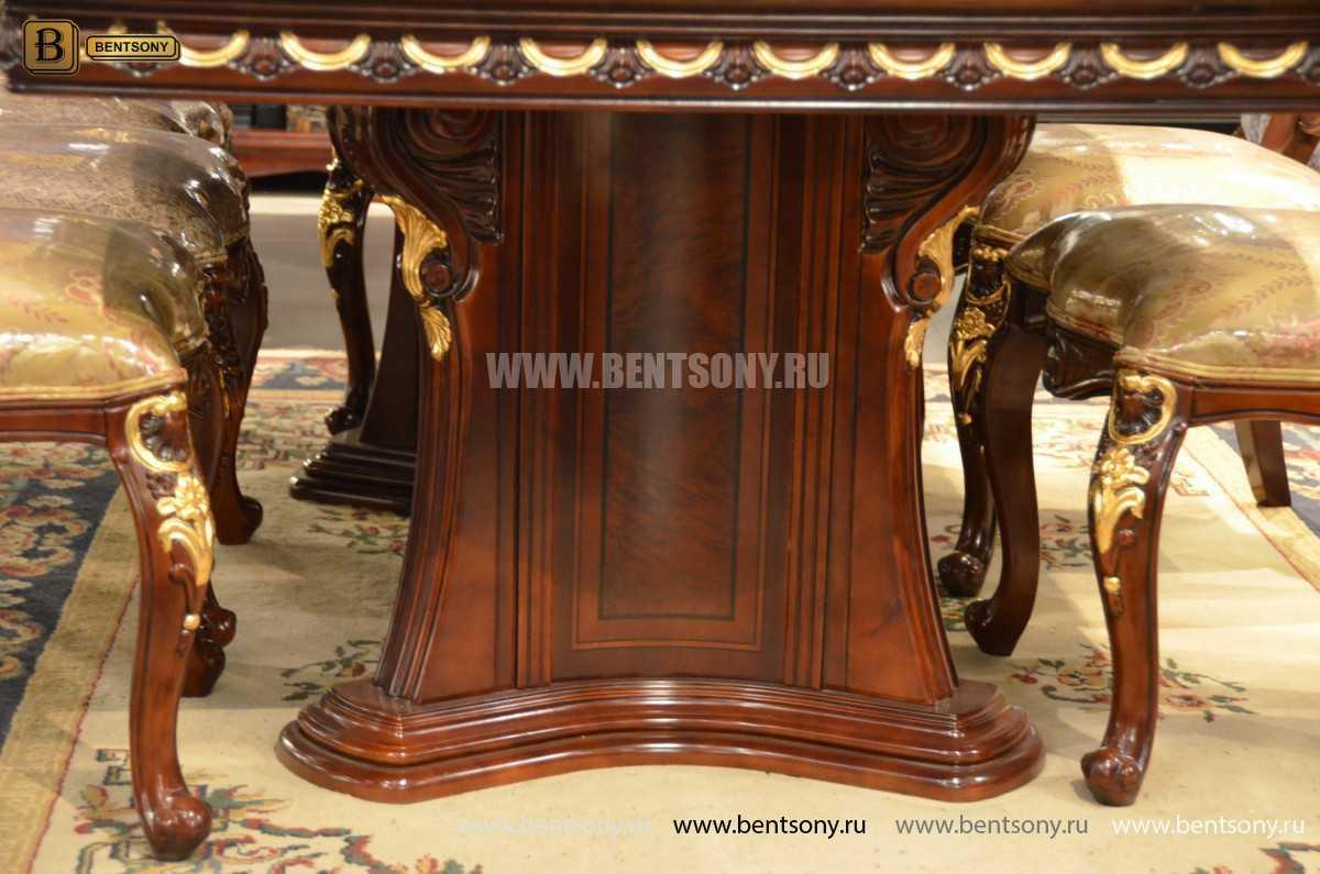Стол обеденный Вагнер раздвижной (массив дерева) каталог с ценами