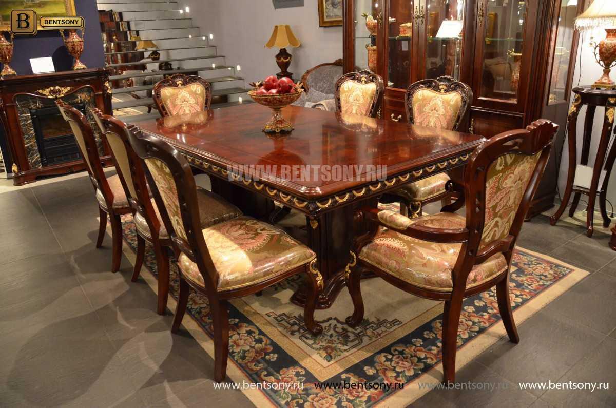 Стол обеденный Вагнер раздвижной (массив дерева) купить в СПб