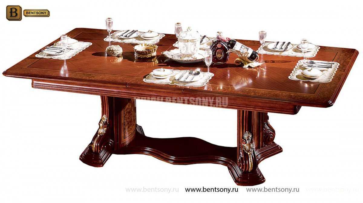 Стол обеденный Вагнер раздвижной (массив дерева) каталог мебели с ценами