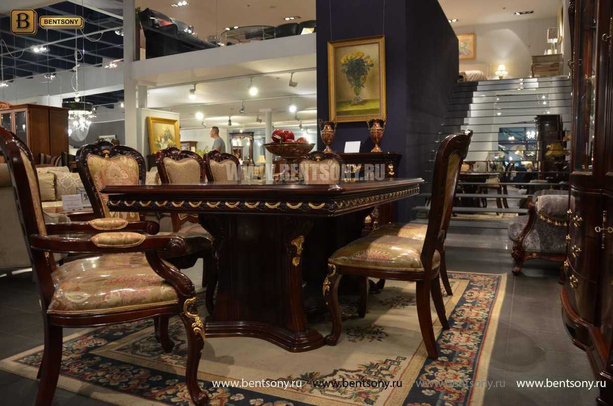 Стол обеденный Вагнер раздвижной (массив дерева) каталог мебели