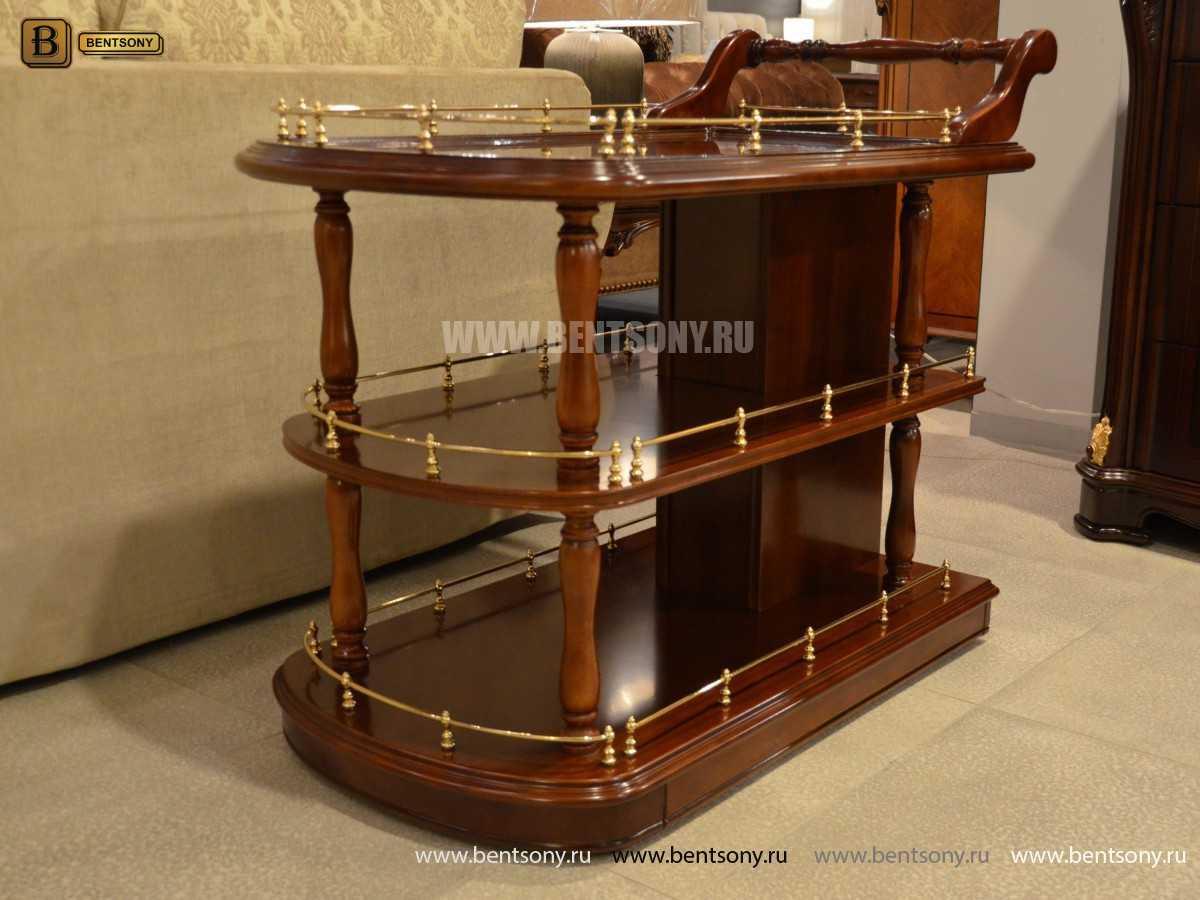 сервировочный столик вагнер классика массив дерева
