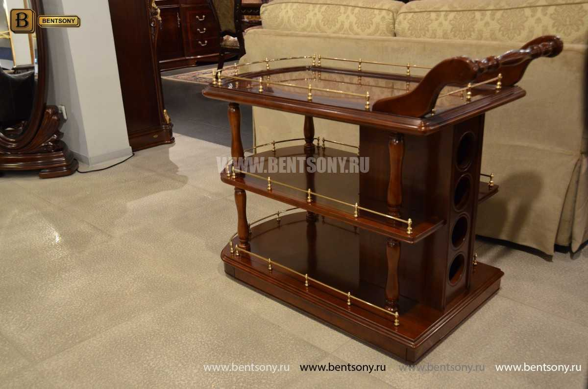 Сервировочный столик Вагнер (Классика, массив дерева) каталог мебели