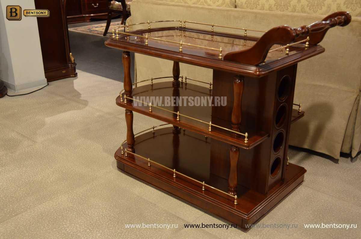 Сервировочный столик Вагнер (Классика, массив дерева) цена