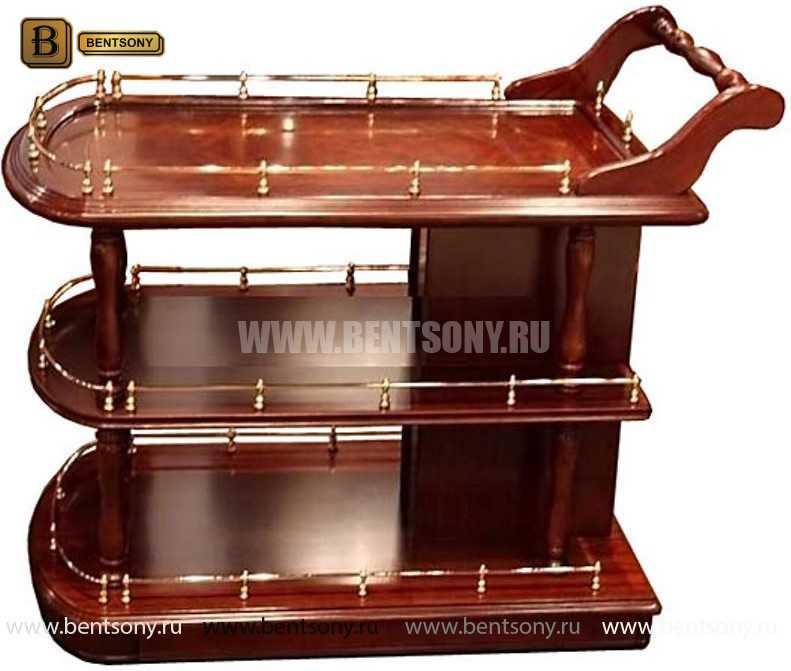 Сервировочный столик Вагнер (Классика, массив дерева) каталог