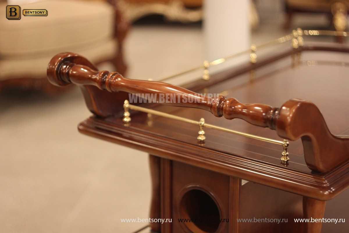 Сервировочный столик Вагнер (Классика, массив дерева) каталог мебели с ценами