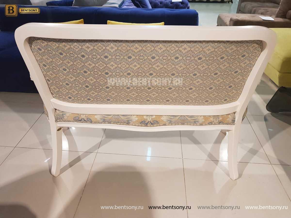 Банкетка Флетчер-W белая (Ткань, классика) официальный сайт цены