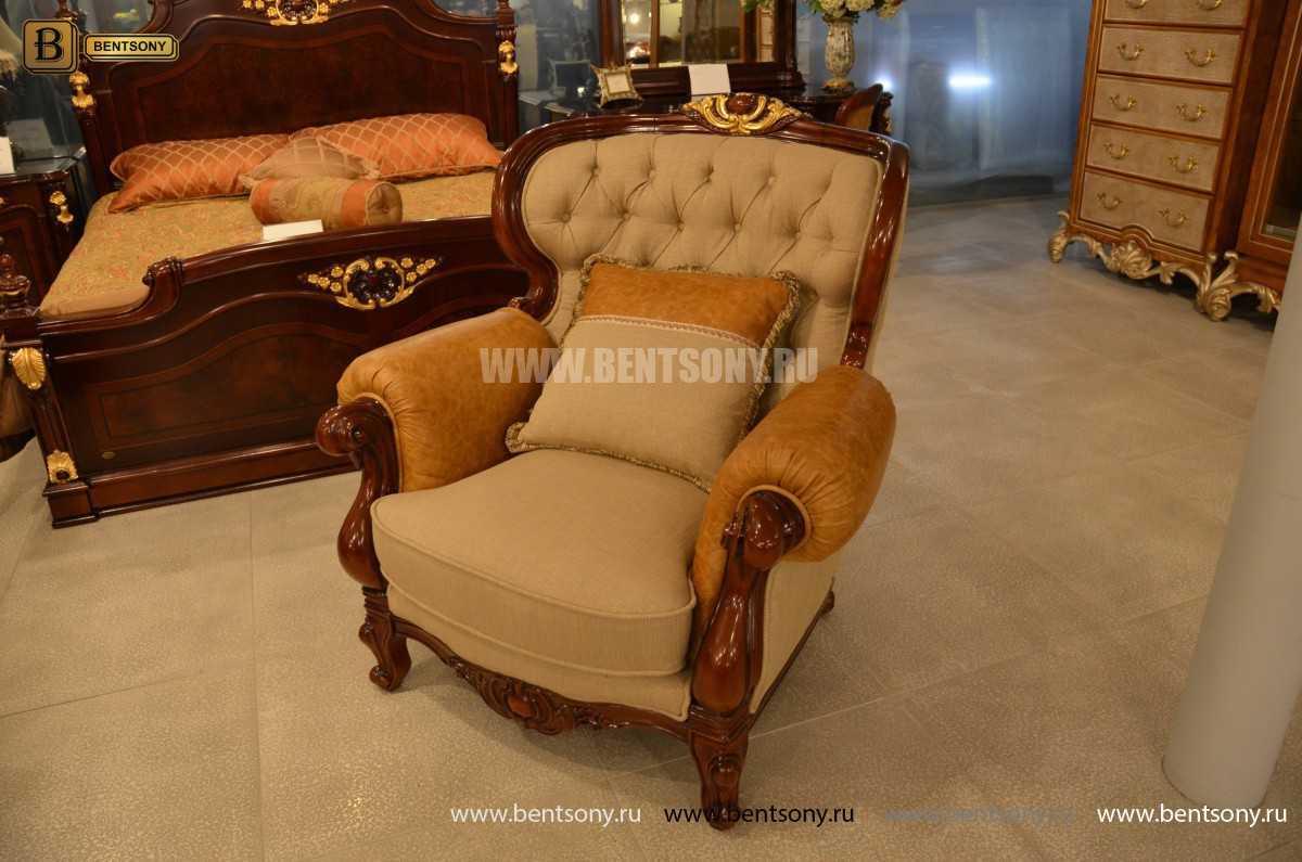 Кресло Вагнер А классическое (Подлокотники кожа) купить в СПб