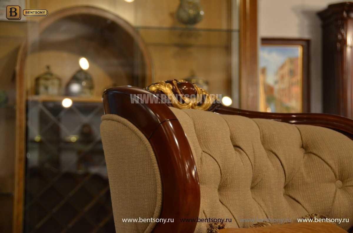 Кресло Вагнер А классическое (Подлокотники кожа) магазин