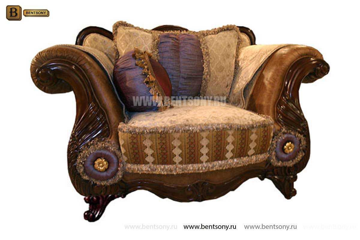 Кресло Вагнер С классическое (Подлокотники кожа) официальный сайт цены