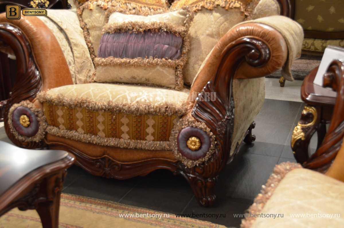 Кресло Вагнер С классическое (Подлокотники кожа) интернет магазин