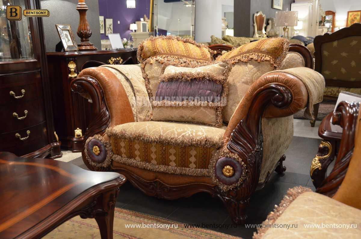 Кресло Вагнер С классическое (Подлокотники кожа) сайт цены